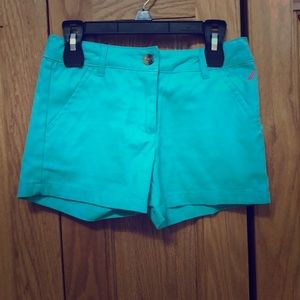 Teal/Blue shorts